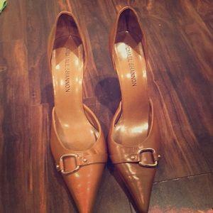 Brown Semi formal heels